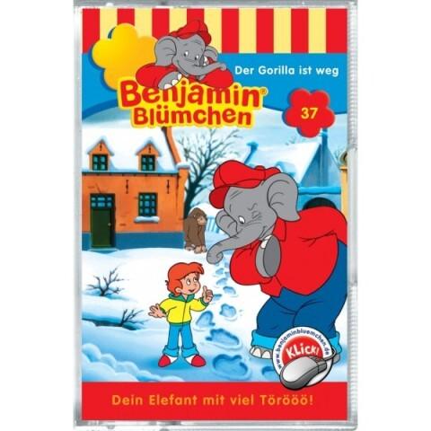Benjamin Blümchen: Folge 037: Der Gorilla ist weg als Audio-Cassette