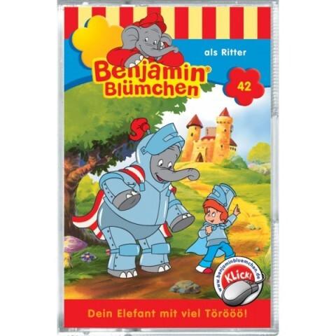 Benjamin Blümchen: Folge 042: als Ritter als Audio-Cassette