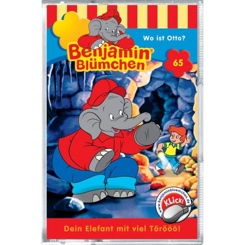 Benjamin Blümchen: Folge 065: Wo ist Otto? als CD