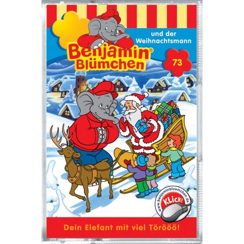 Benjamin Blümchen und der Weihnachtsmann, 1 Cassette als Hörbuch