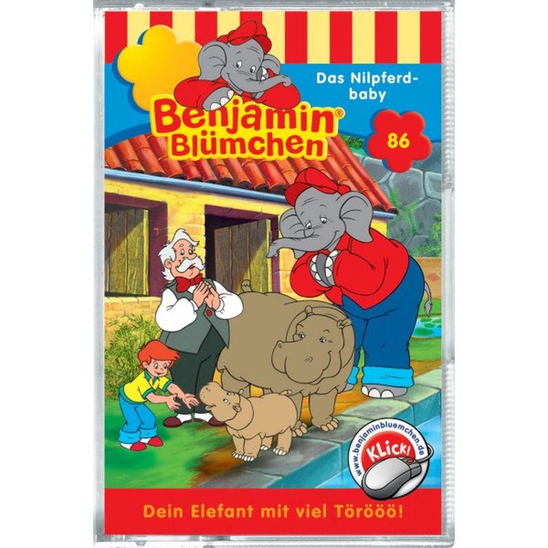Benjamin Blümchen: Folge 086: Das Nilpferdbaby als CD