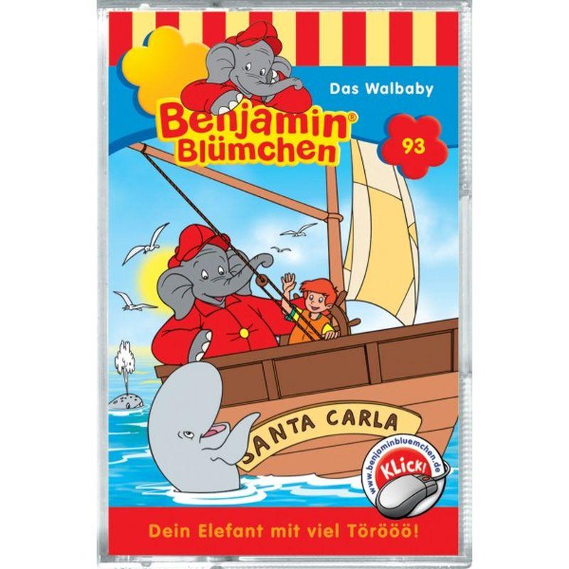 Benjamin Blümchen: Folge 093: Das Walbaby als CD
