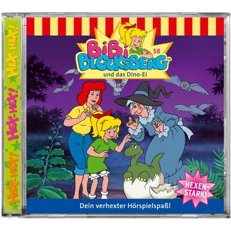 Bibi Blocksberg 058. und das Dino-Ei. CD als Hörbuch