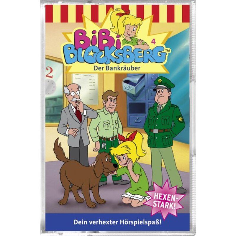 Bibi Blocksberg 004. Der Bankräuber. Cassette als Hörbuch