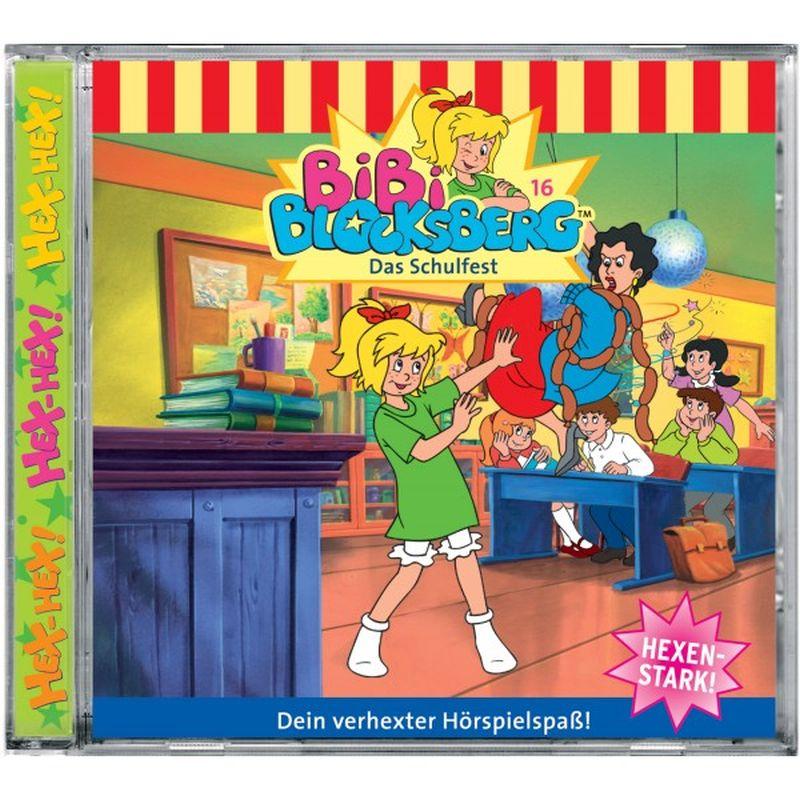 Bibi Blocksberg 016. Das Schulfest. Cassette als Hörbuch