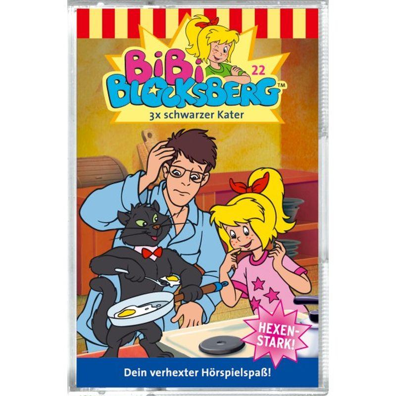 Bibi Blocksberg 022. 3x schwarzer Kater. Cassette als Hörbuch