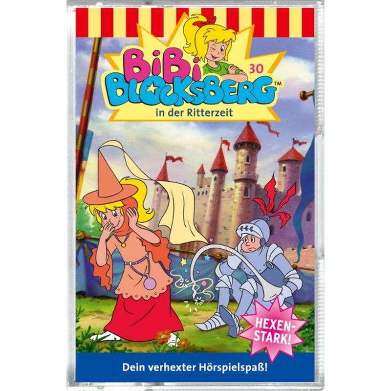 Bibi Blocksberg 030. in der Ritterzeit. Cassette als Hörbuch