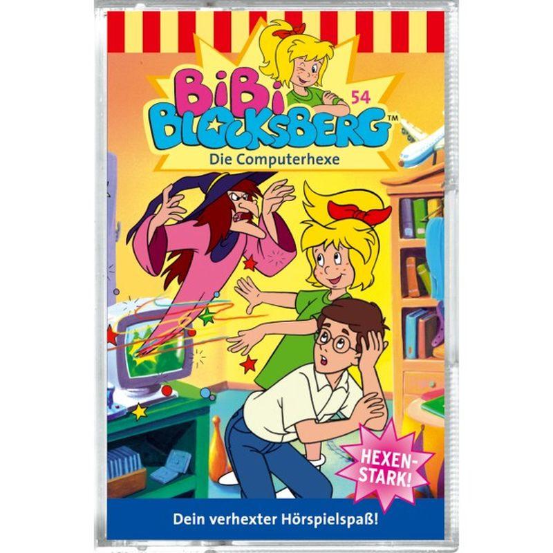 Bibi Blocksberg 054. Die Computerhexe. Cassette als Hörbuch