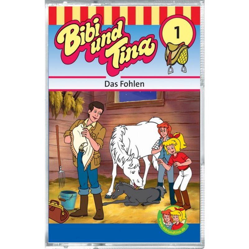 Bibi und Tina 01. Das Fohlen. Cassette als Hörbuch
