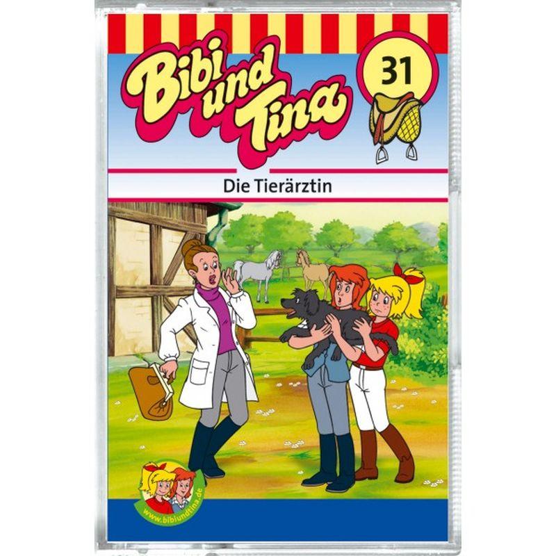 Bibi und Tina 31. Die Tierärztin. Cassette als Hörbuch