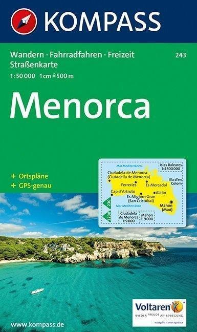 Menorca 1 : 50 000 als Buch