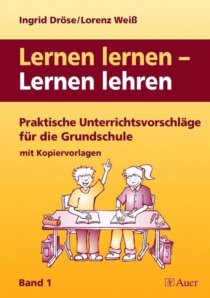 Lernen lernen - Lernen lehren 1 als Buch