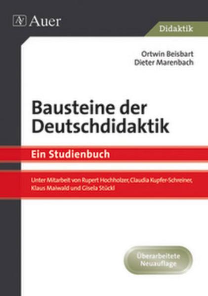 Bausteine der Deutschdidaktik als Buch