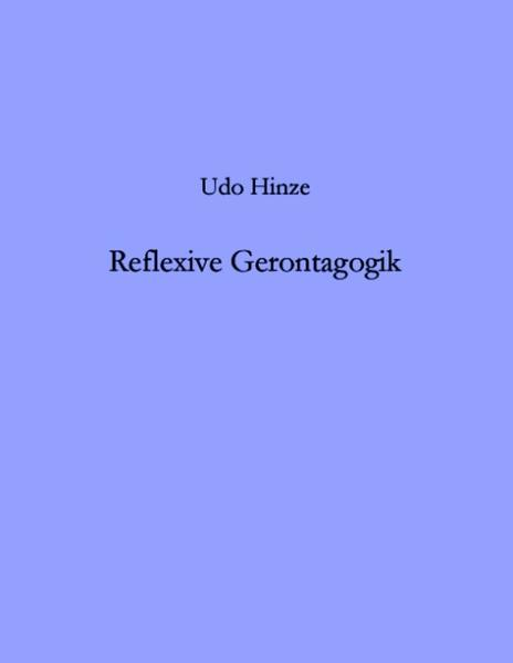 Reflexive Gerontagogik als Buch