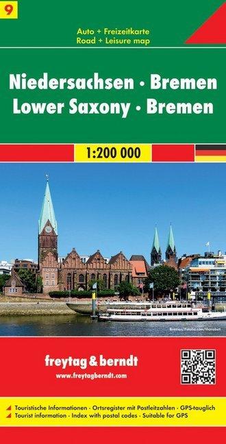 Deutschland 09 Niedersachsen, Bremen 1 : 200 000 als Buch