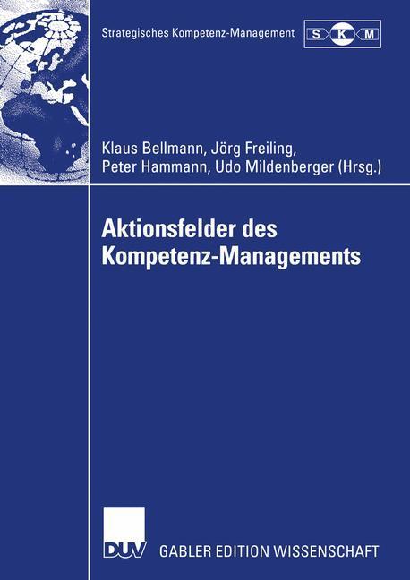 Aktionsfelder des Kompetenz-Managements als Buch