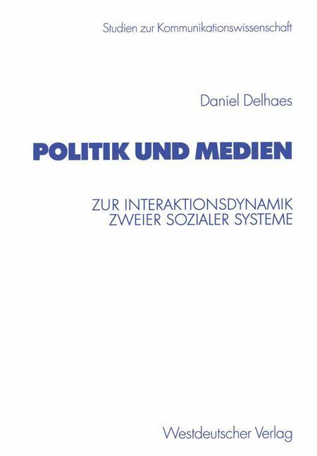 Politik und Medien als Buch