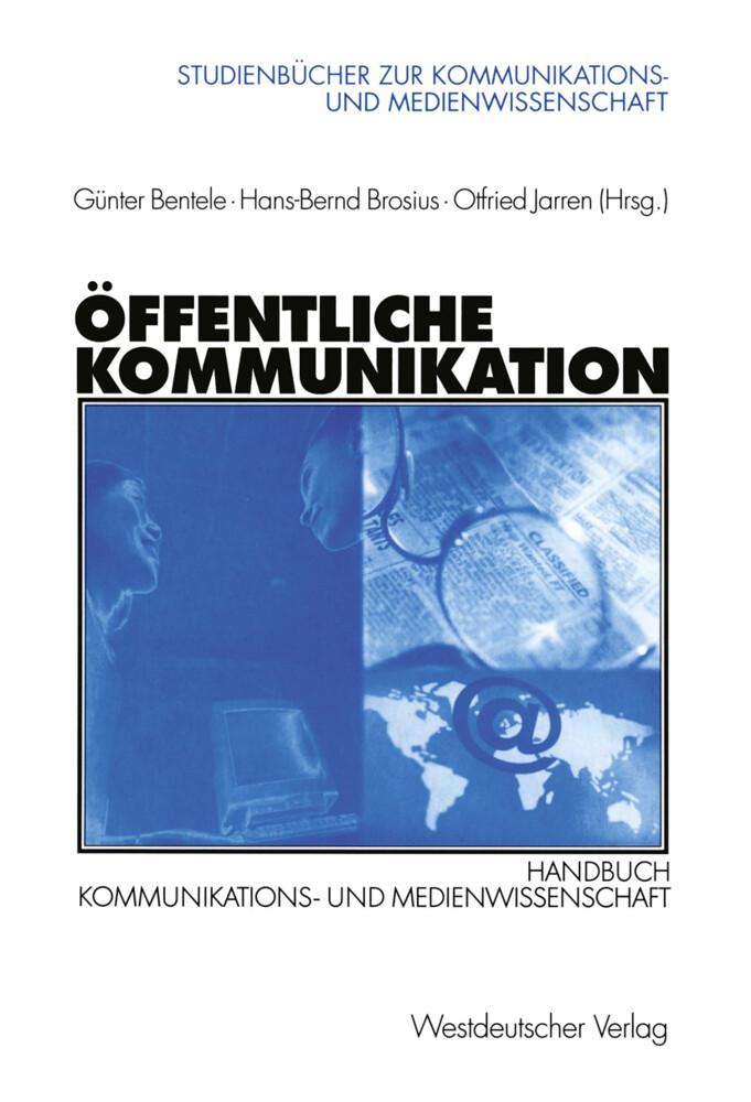 Öffentliche Kommunikation als Buch