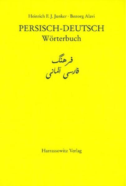 Wörterbuch Persisch-Deutsch als Buch