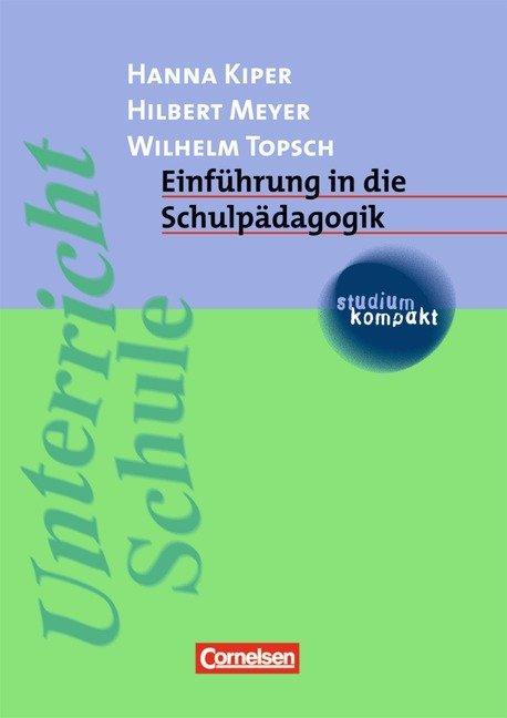 Einführung in die Schulpädagogik als Buch