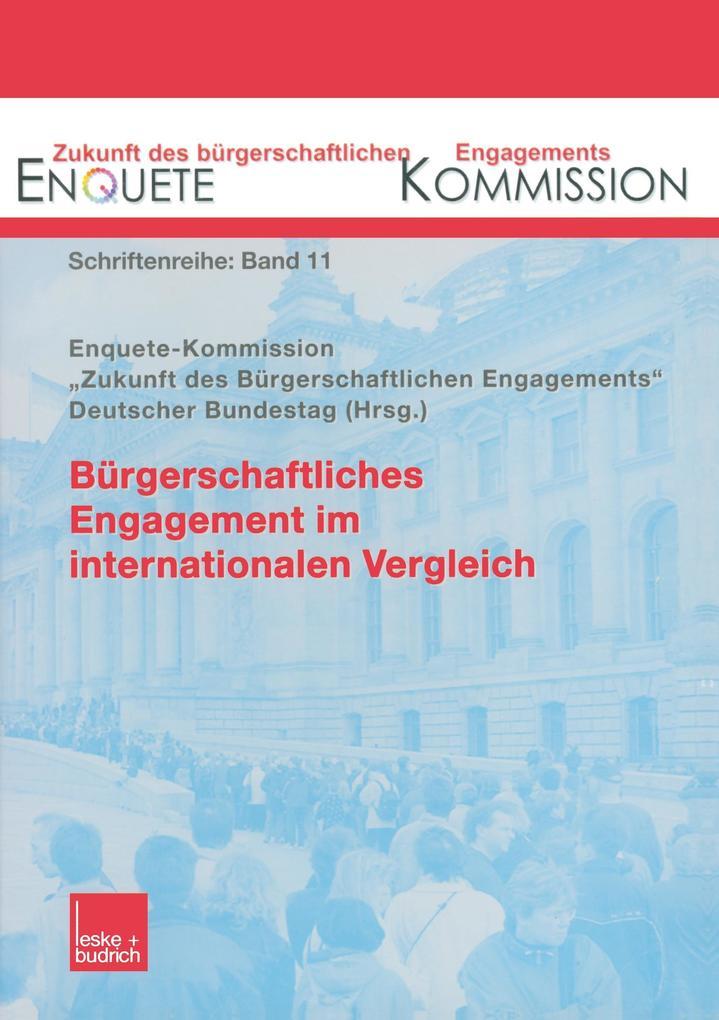 Bürgerschaftliches Engagement im internationalen Vergleich als Buch (kartoniert)
