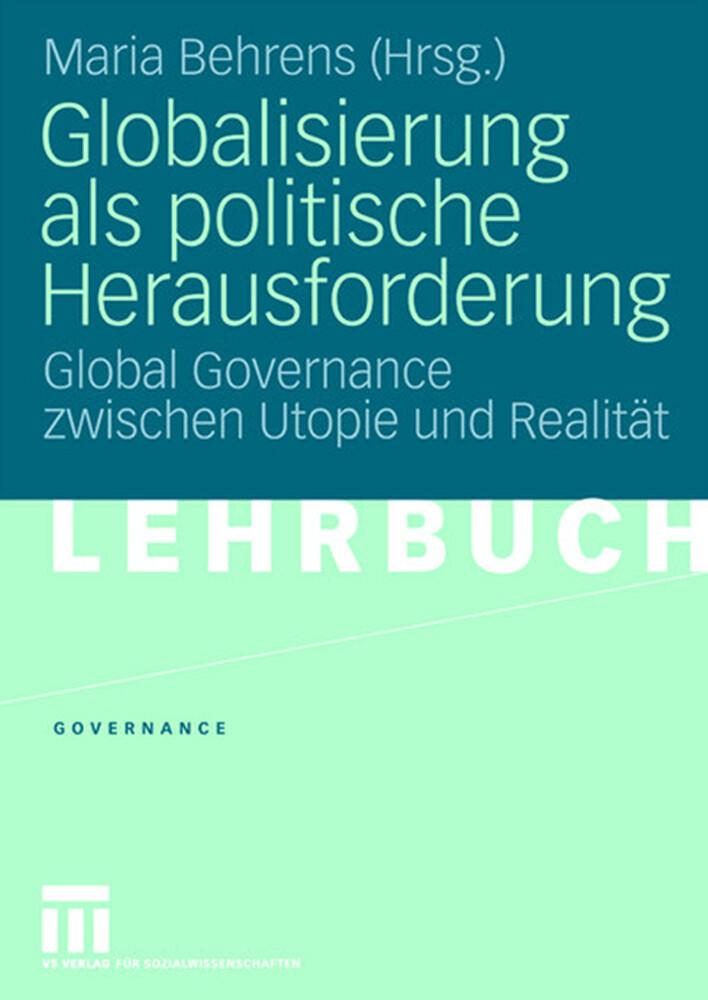 Globalisierung als politische Herausforderung als Buch