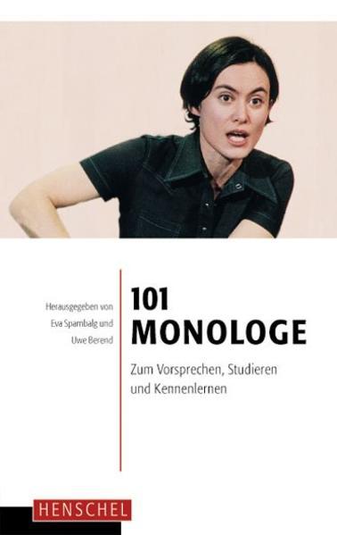 101 Monologe als Buch (kartoniert)