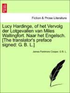 Lucy Hardinge, of het Vervolg der Lotgevallen v...