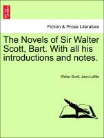 The Novels of Sir Walter Scott, Bart. With all his introductions and notes. Vol. XV. als Taschenbuch von Walter Scott, Jean Lafitte - British Library, Historical Print Editions