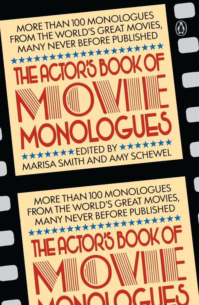 The Actor's Book of Movie Monologues als Taschenbuch
