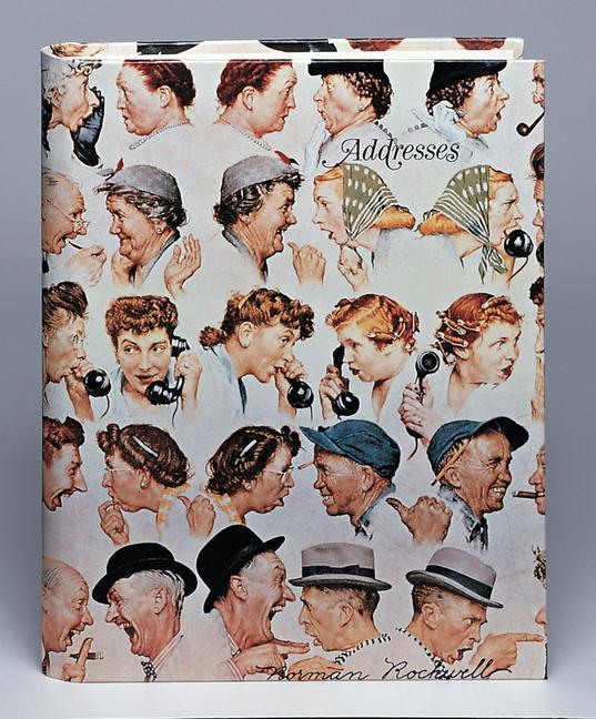Norman Rockwell Address Book als Buch