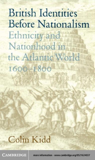 British Identities before Nationalism als eBook pdf