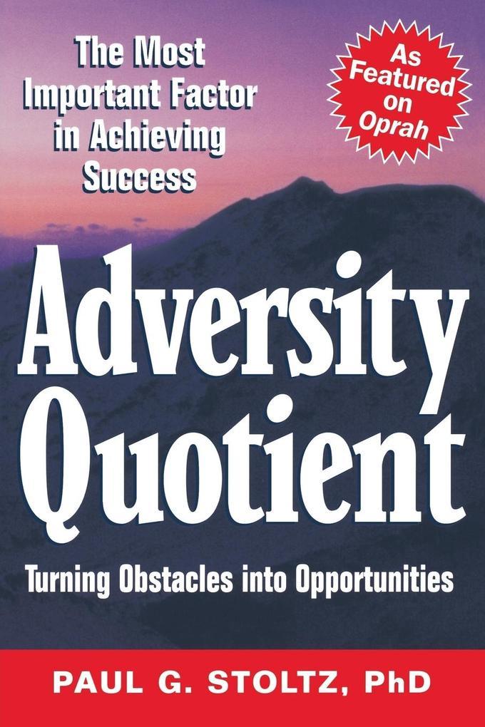 Adversity Quotient als Taschenbuch