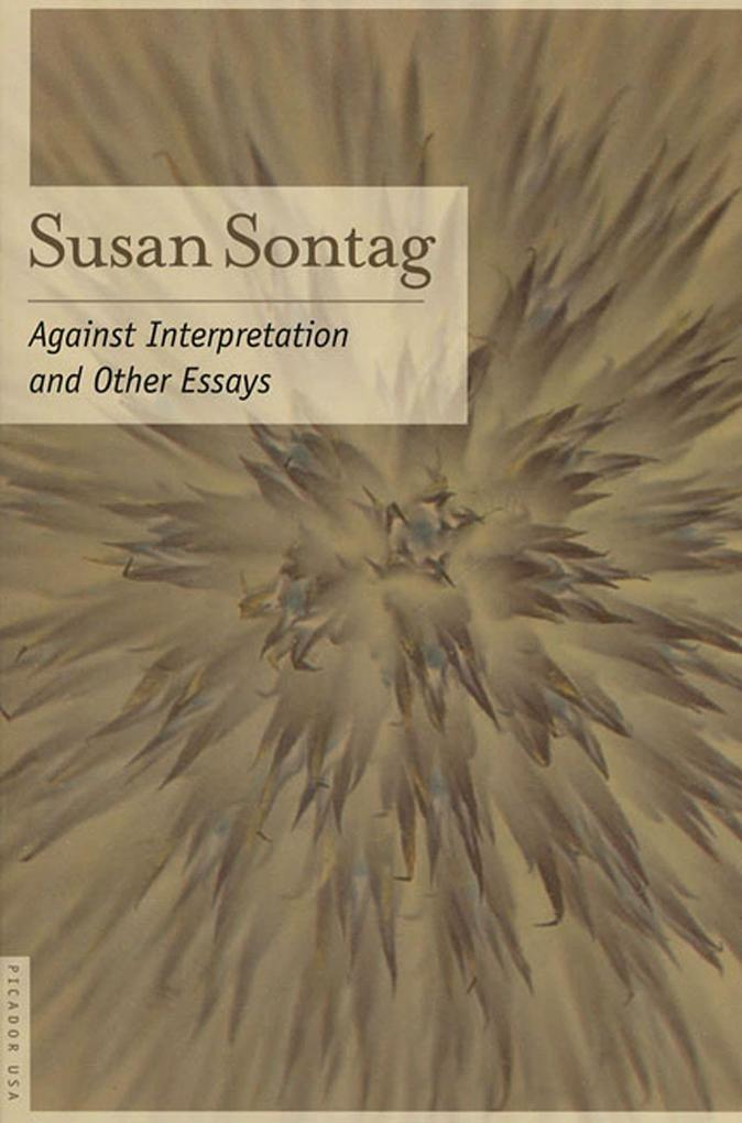 Against Interpretation: And Other Essays als Taschenbuch