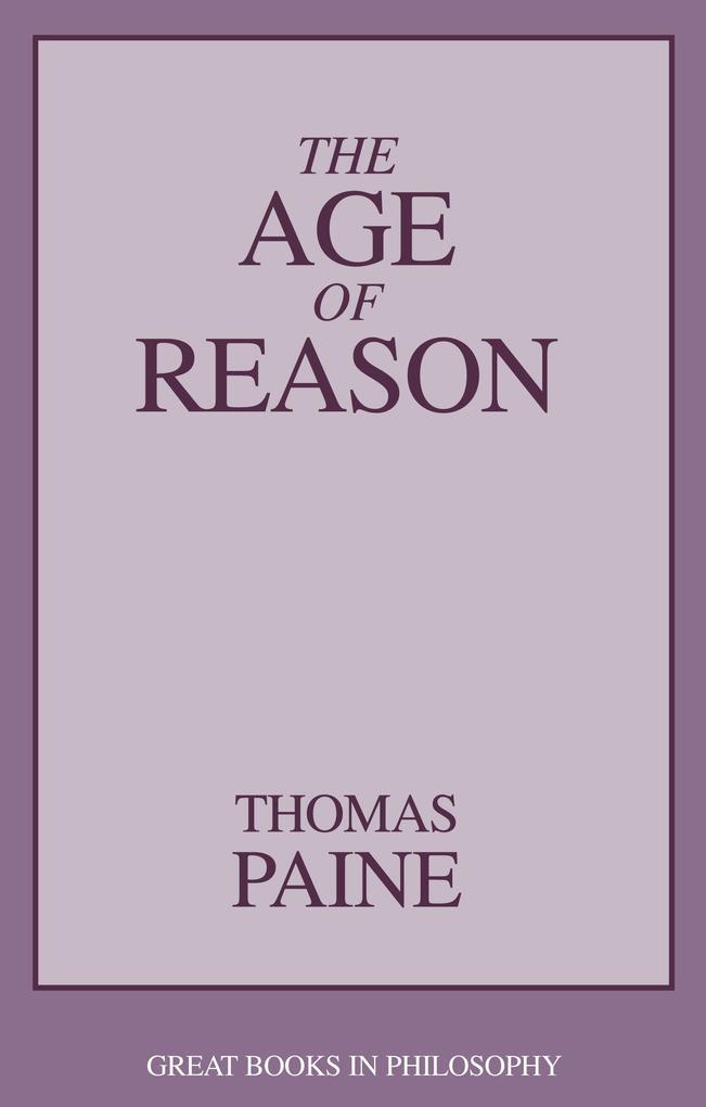 The Age of Reason als Taschenbuch