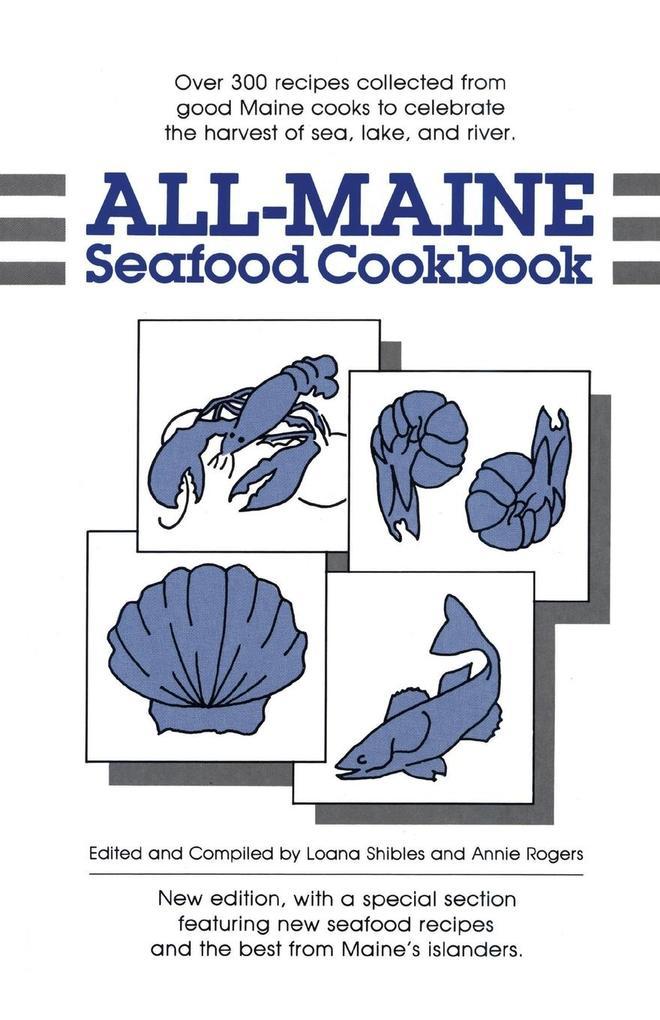 All-Maine Seafood Cookbook als Taschenbuch