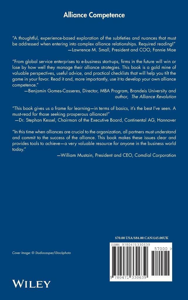 Alliance Competence als Buch