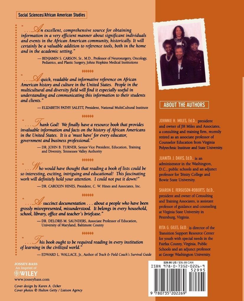 Almanac of African-American Heritage als Taschenbuch