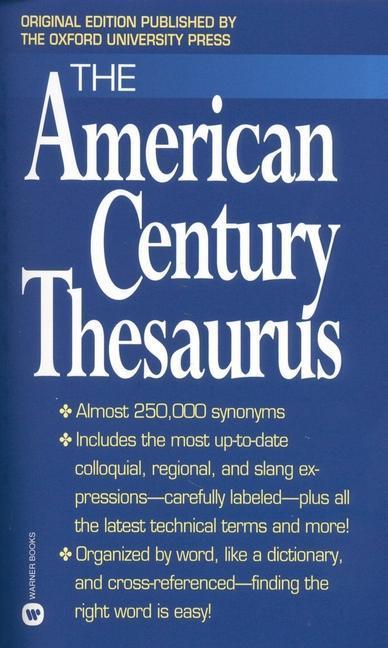The American Century Thesaurus als Taschenbuch