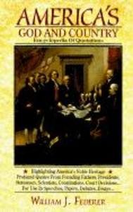America's God and Country Encyclopedia of Quotations als Buch