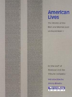 American Lives: The Stories of the Men and Women Lost on September 11 als Taschenbuch