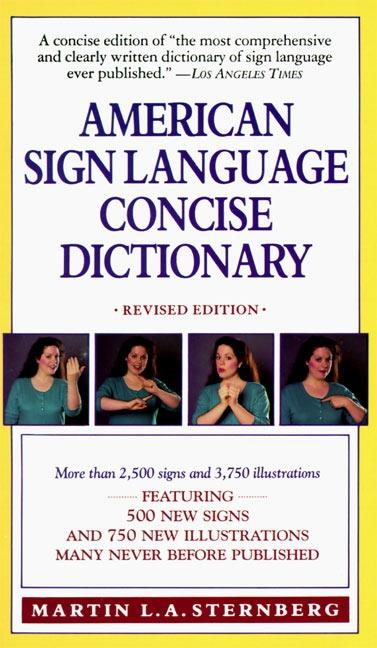 American Sign Language Concise Dictionary: Revised Edition als Taschenbuch