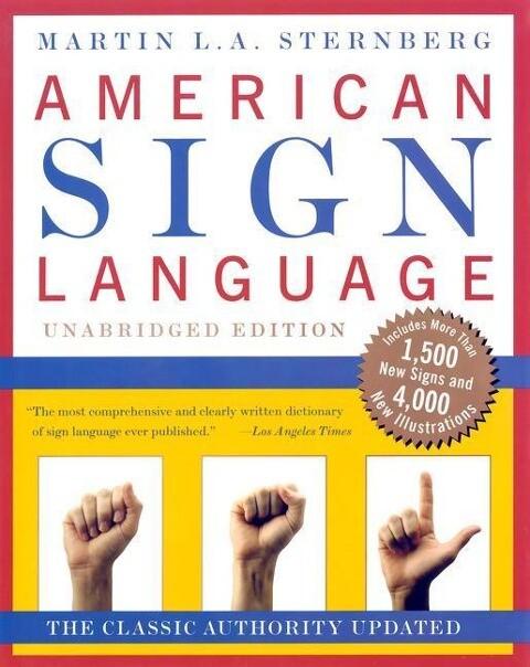 American Sign Language Dictionary Unabridged als Buch