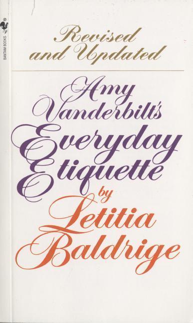 Amy Vanderbilt's Everyday Etiquette als Taschenbuch
