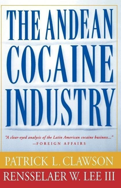 The Andean Cocaine Industry als Taschenbuch