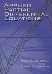 Applied Partial Differential Equations als Buch