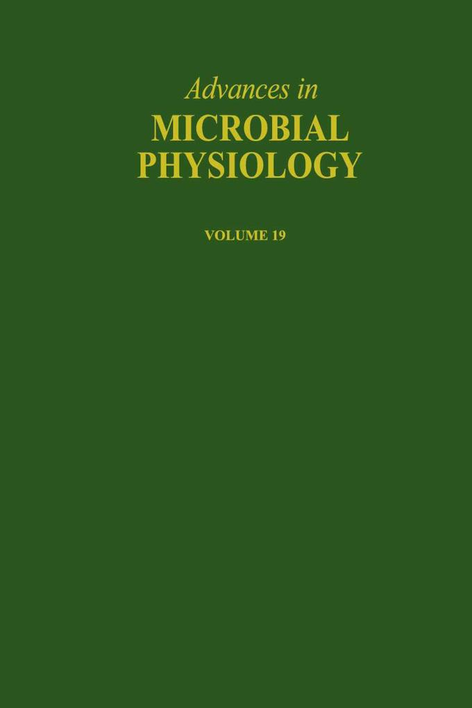 Advances in Microbial Physiology als eBook von - Elsevier Science