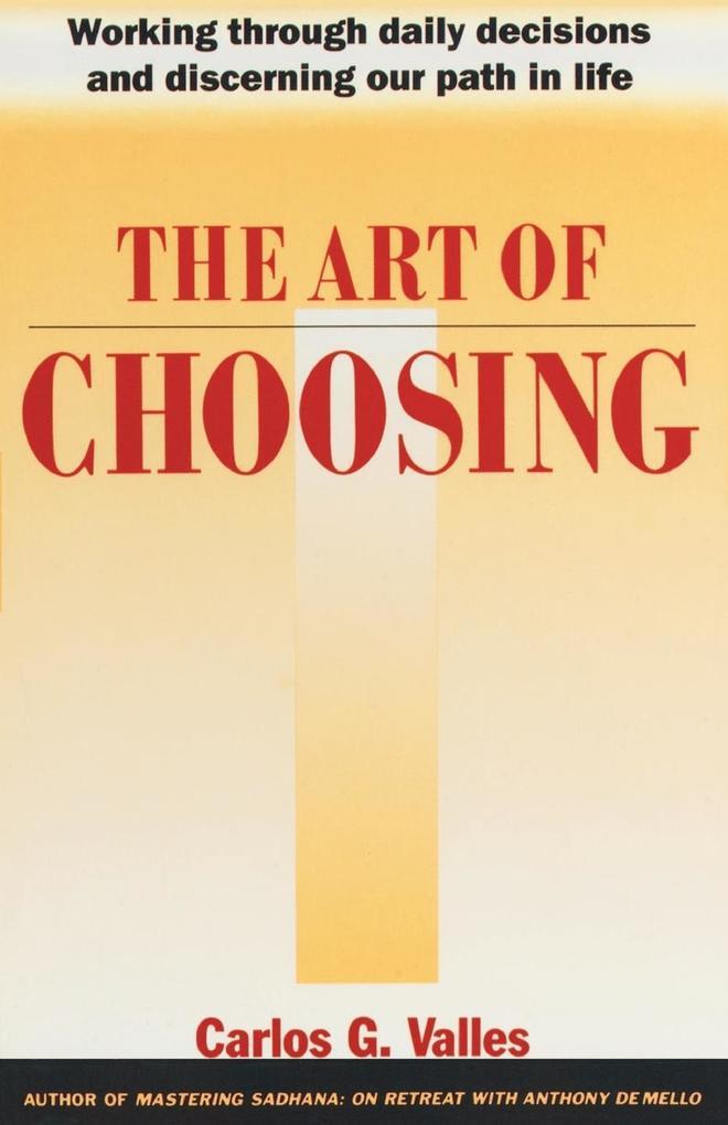 The Art of Choosing als Taschenbuch