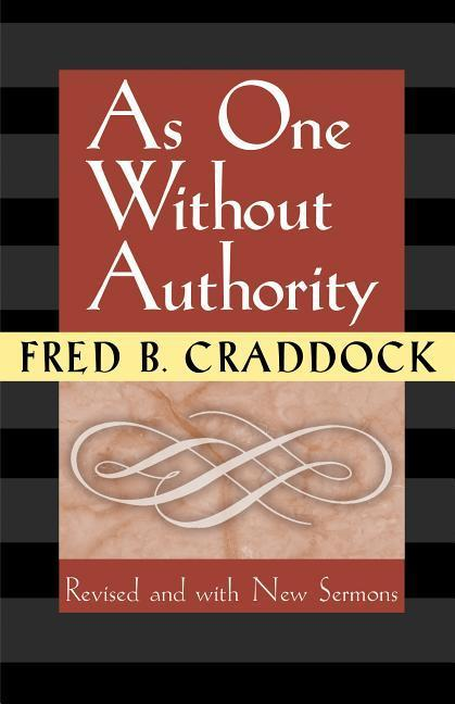 As One Without Authority als Taschenbuch