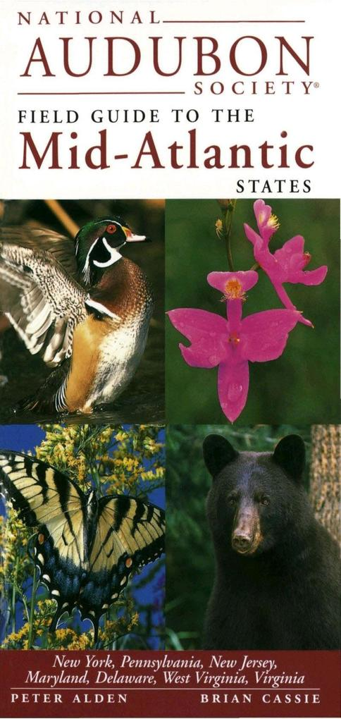 National Audubon Society Guide to the Mid-Atlantic Stat Es als Buch